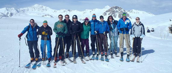 The Ifyouski team at Val d'Isere
